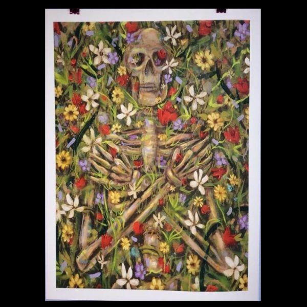 "Beautiful Death II Limited to 100 ever made, signed and numbered. 18"" x 24"""